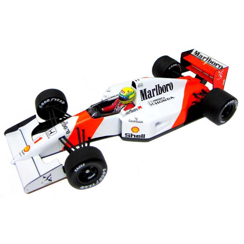 McLaren MP4/7 Ayrton Senna (1992) marca Minichamps escala 1/18