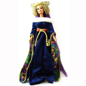 Medieval Lady Barbie Great Eras Collection (1994) Aberto
