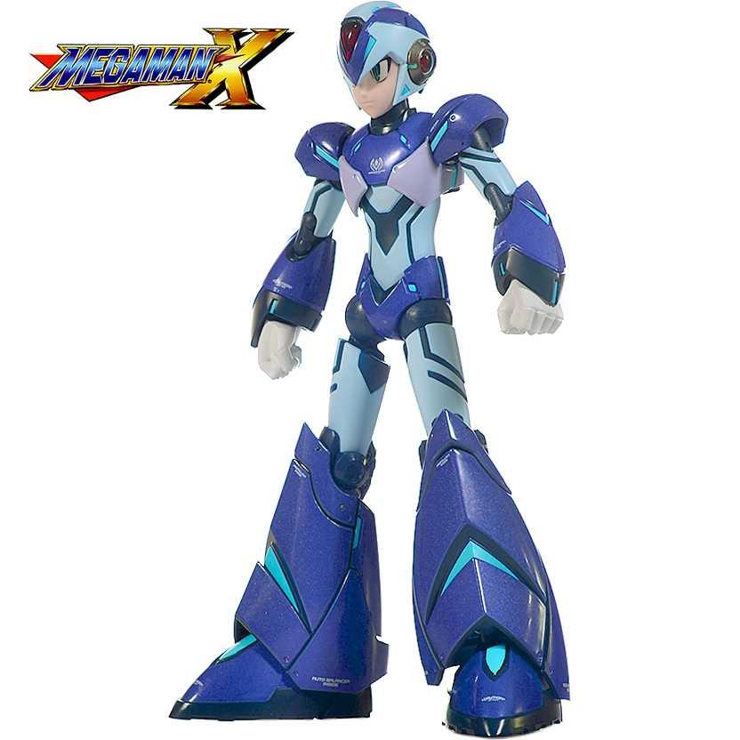 Megaman X Designer Series Action Figure (Truforce Capcom) Rockman Bandai RARO com luz