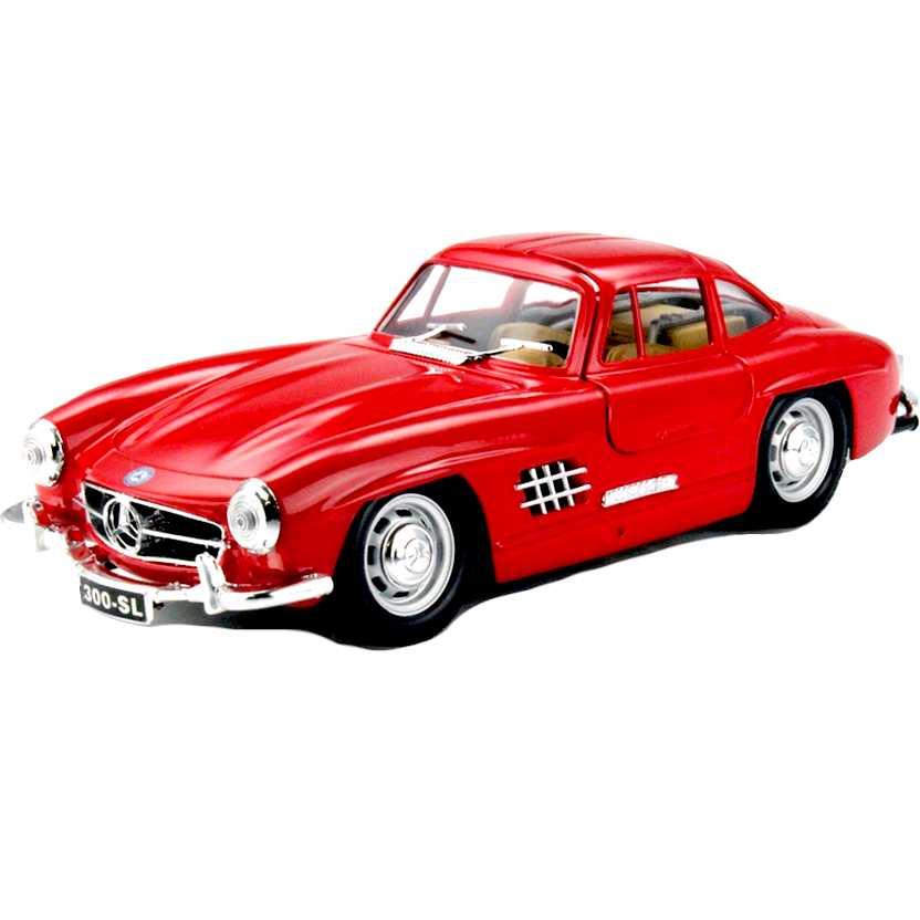 Mercedes-Benz 300 SL vermelho (1954) marca Bburago escala 1/24