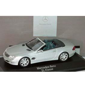 Mercedes Benz SL-Class Klass R230 Minichamps escala 1/43