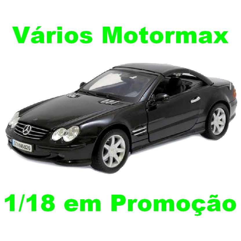 Mercedes Benz SL500 (2003) marca Motormax escala 1/18