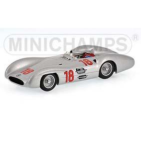 Mercedes-Benz W 196 Juan Manuel Fangio (1954) Fórmula 1 Minichamps F1