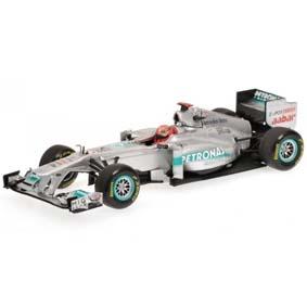 Mercedes MGP W02 Mercedes Michael Schumacher (2011) Minichamps escala 1/43