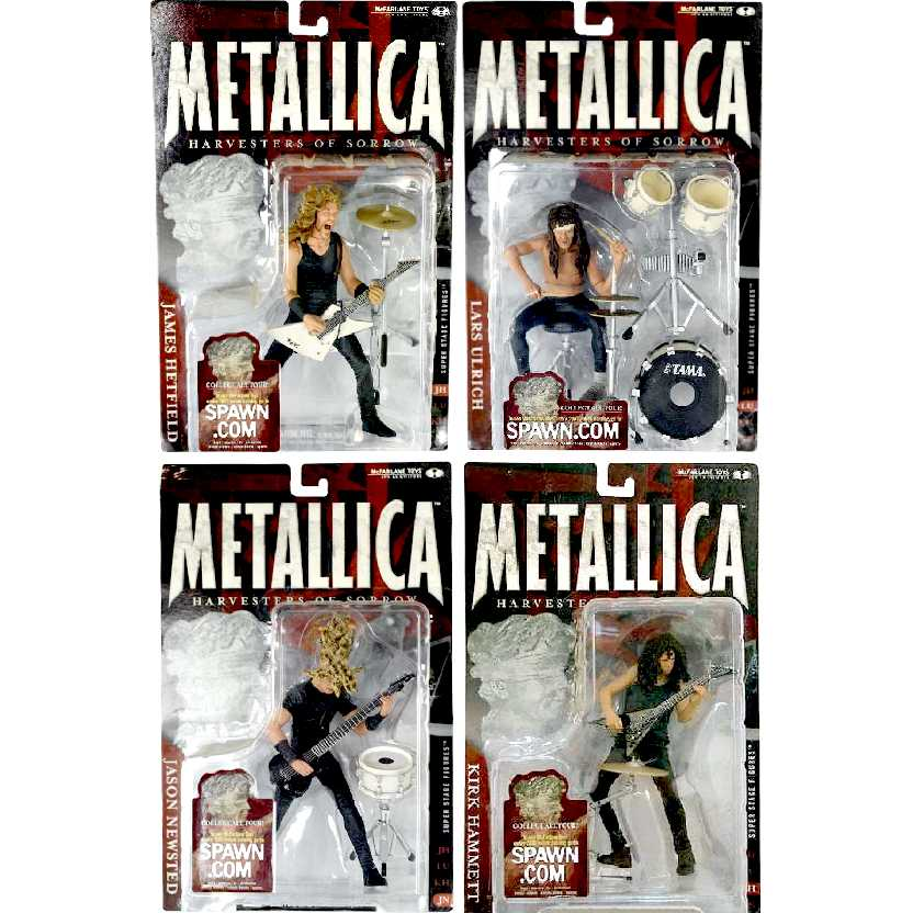 Metallica (lacrado) James Hetfield, Jason Newsted, Kirk Hammett e Lars Ulrich