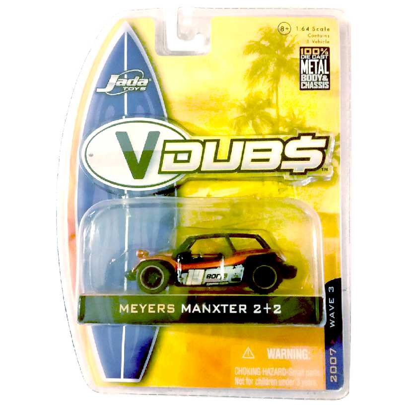Meyers Manxter 2+2 VDUBS (Buggy) marca Jada Toys escala 1/64