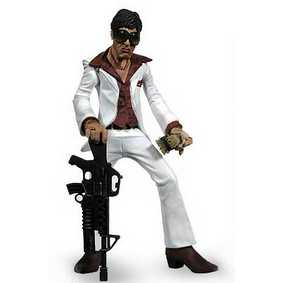 Mezco Action Figures Scarface Tony Montana ( boneco do Al Pacino )