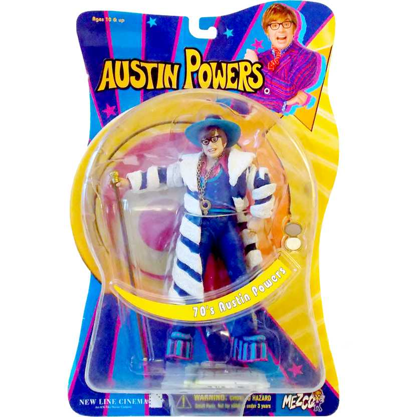 Mezco Toyz - 70s Austin Powers action figure