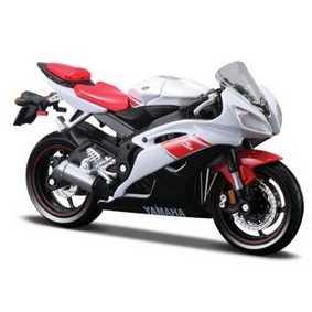 Minatura de Motos Maisto Yamaha YZF R6 (2007) escala 1/18