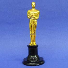 Mini Estatueta do Oscar em resina