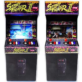 Mini Fliperama Arcade Street Fighter 2 II com led ( SEM SOM ) Play Pixel Videogame