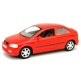 Miniatura Astra Hatch (2000) Miniaturas Welly Brasil Opel Astra escala 1/24