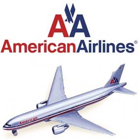 Miniatura avião American Airlines Boeing 777-200 marca Welly die cast