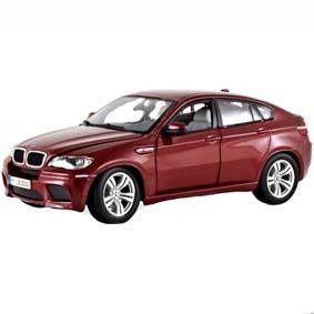 Miniatura BMW X6M (2011) Bburago diecast Brasil miniaturas escala 1/18