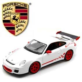 Miniatura Burago escala 1/18 - Porsche 911 (997) GT3 RS