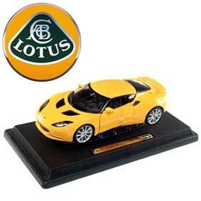 Miniatura Burago escala 1/24 Lotus Evora S IPS