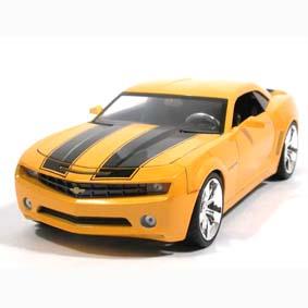Miniatura Camaro SS Amarelo (2010) Chevrolet Bumble Bee Filme Transformers