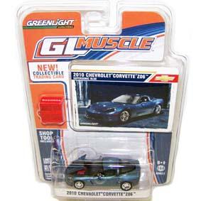 Miniatura Chevrolet Corvette Z06 (2010) Greenlight escala 1/64 R2 13020