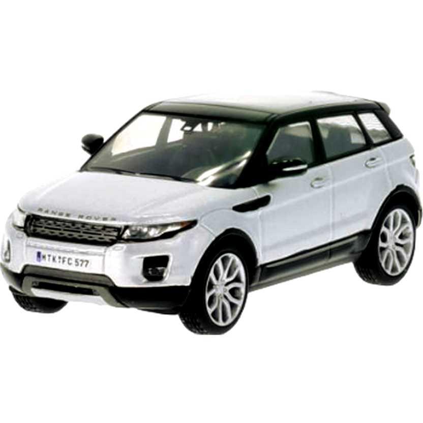 Miniatura da Land Rover Range Rover Evoque 4 portas cor prata marca WhiteBox escala 1/43