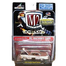 Miniatura da M2 Machines Carrinho 1/64 Dodge Royal Lancer (1955) 31500 R09
