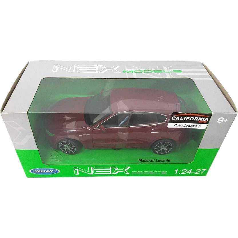 Miniatura da Maserati Levante SUV marca Welly escala 1/24 24078W