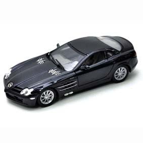 Miniatura da Mercedes-Benz SLR Mclaren Miniaturas Motormax escala 1/24