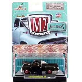 Miniatura da Pickup Studebaker 3R (1954) M2 Machines escala 1/64