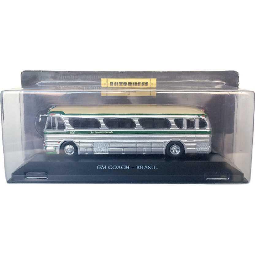 Miniatura de ônibus GM Coach PD-4104 Rio - São Paulo Viação Cometa escala 1/72