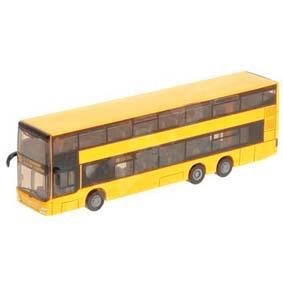 Miniatura de Ônibus MAN de 2 Andares  ( Serviço Público ) escala 1/87 Siku 1884