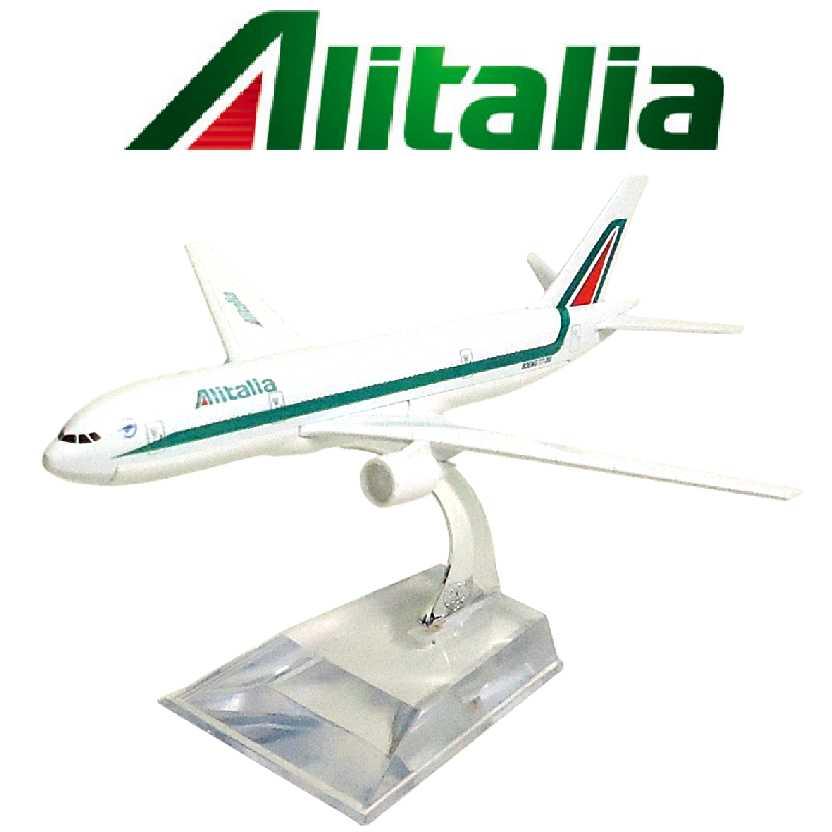 Miniatura de Avião em metal Boeing 777 Alitalia Aviões Comerciais