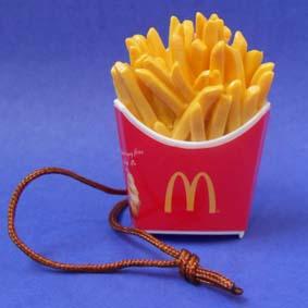 Miniatura de Batata Frita Mc Donalds