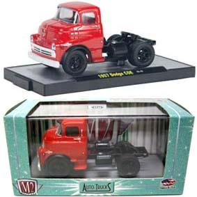 Miniatura de Caminhão 1957 Dodge COE Truck M2 Machines escala 1/64