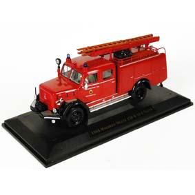 Miniatura de Caminhão Magirus Bombeiros Deutz 150 D10 F TLF-16 (1964)