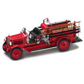Miniatura de Caminhão Yatming Bombeiro Maxim C1 (1923)