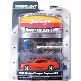 Miniatura de Carrinho 1/64 Greenlight Dodge Charger Daytona R/T (2008) R4 28640