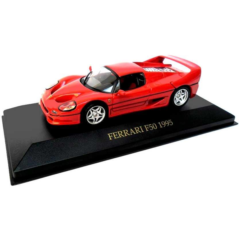Miniatura de carro escala 1/43 - Ferrari F50 (1995) marca IXO