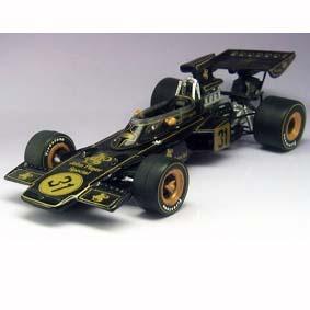 Miniatura de F1 Fórmula 1 Lotus 72D Emerson Fittipaldi