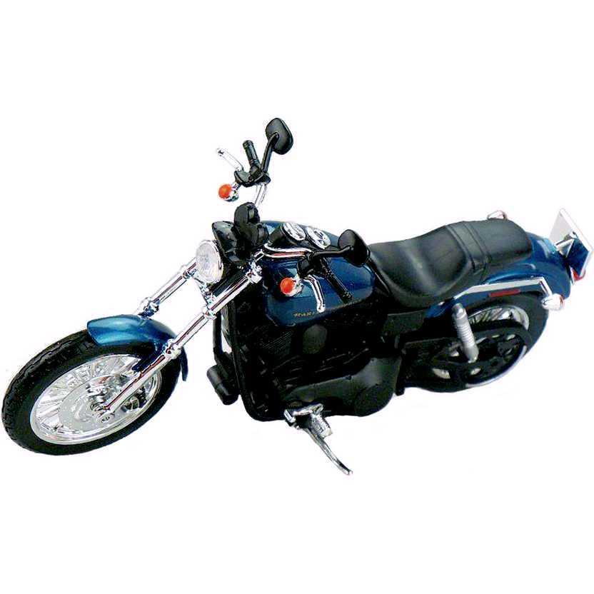 Miniatura de moto Harley-Davidson escala 1/12 - 2004 Dyna Super Glide Sport