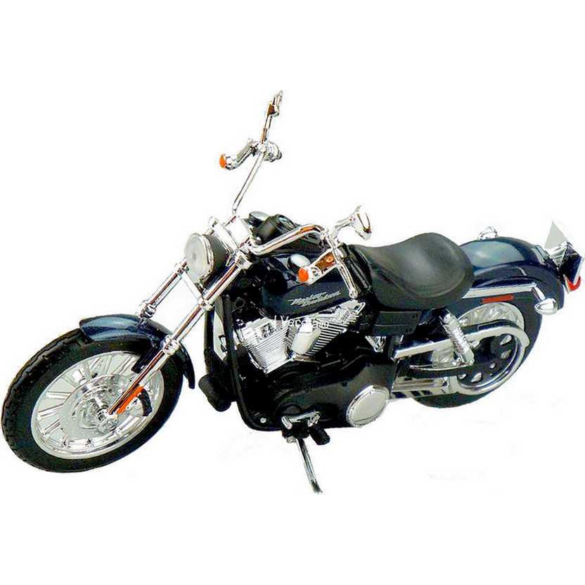 Miniatura de moto Harley-Davidson escala 1/12 - 2006 FXDBI Dyna Street Bob