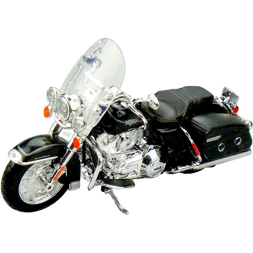 Miniatura de moto Harley-Davidson escala 1/12 - 2013 FLHRC Road King Classic