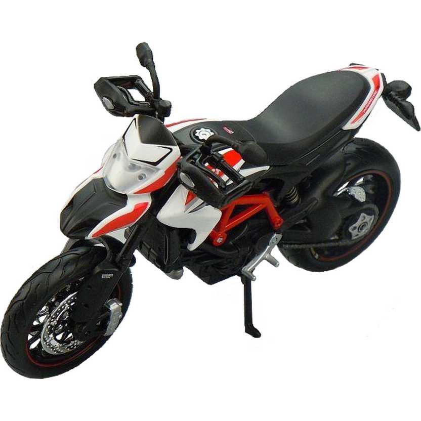 Miniatura de moto Maisto escala 1/12 Ducati Hypermotard SP 2013