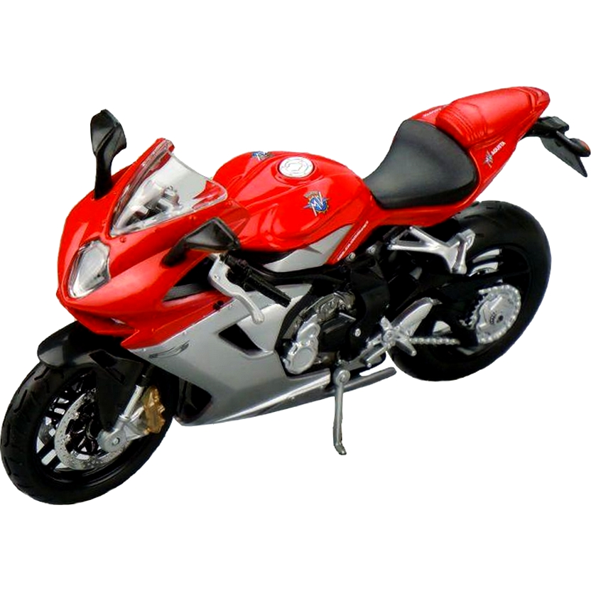 Miniatura de moto Maisto escala 1/12 - MV Agusta F3 (2012)