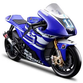 Miniatura de Moto Maisto MotoGP 2011 :: Yamaha YZR-M1 Ben Spies No 11 1/18