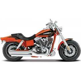 Miniatura de Motos Maisto Harley Davidson CVO Fat Bob FXDFSE S-28 (2009)