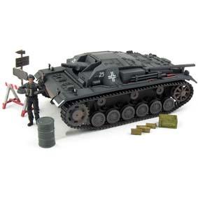 Miniatura de Tanque de Guerra Alemão Sturmgeschutz III AUSF. (1941) 1/32