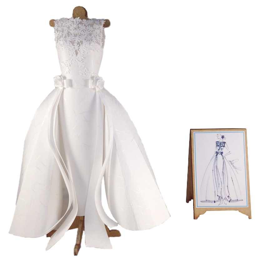Miniatura de Vestido de Noiva (papel 1)