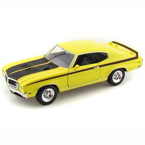 Miniatura do Buick GSX (1970) Miniaturas Welly Brasil escala 1/24