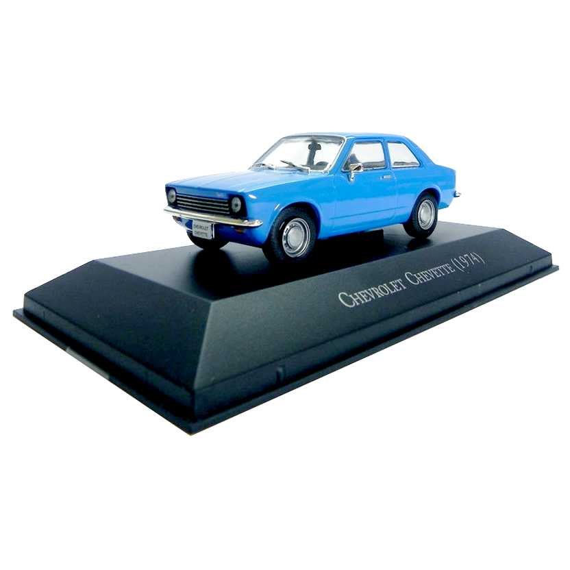 Chevrolet Chevette 1974 Coleção Carros Inesquecíveis Do Brasil escala 1/43