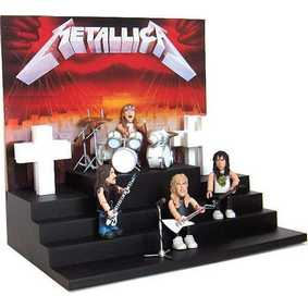 Miniatura do Conjunto Metallica Master Of Puppets  Playset