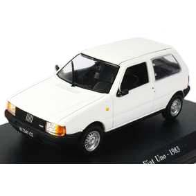 Miniatura do Fiat Uno (1983) 2 portas Norev escala 1/43